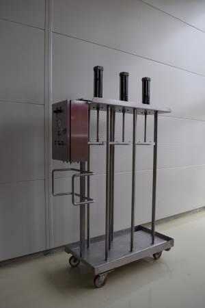 Presse verticale